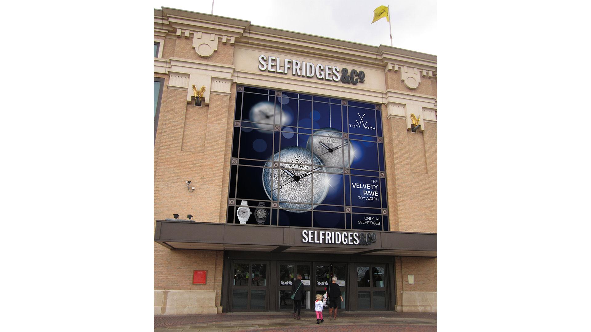 TW Velvety Pave Selfridges Manchester