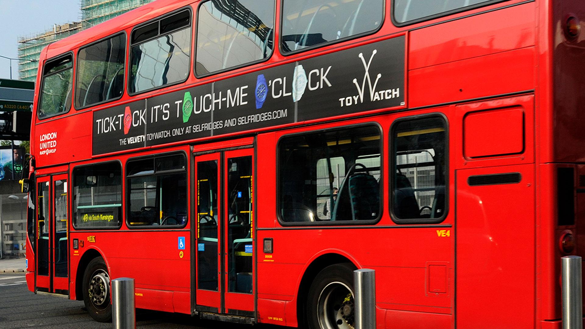 TW Velvety Bus Campaign